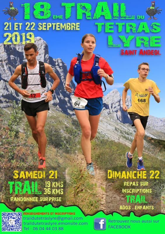 Encart publicitaire Trail du Tétras-Lyre 2019